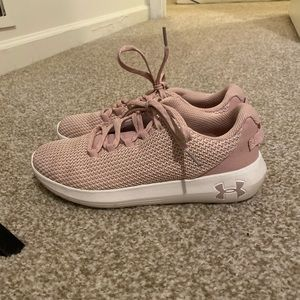 Under Armour Women's Ripple Running Shoes in Pink